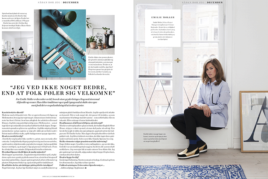 Marie Louise Munkegaard; Photographer; Elle decoration, Elle decoration dk, Copenhagen; Denmark