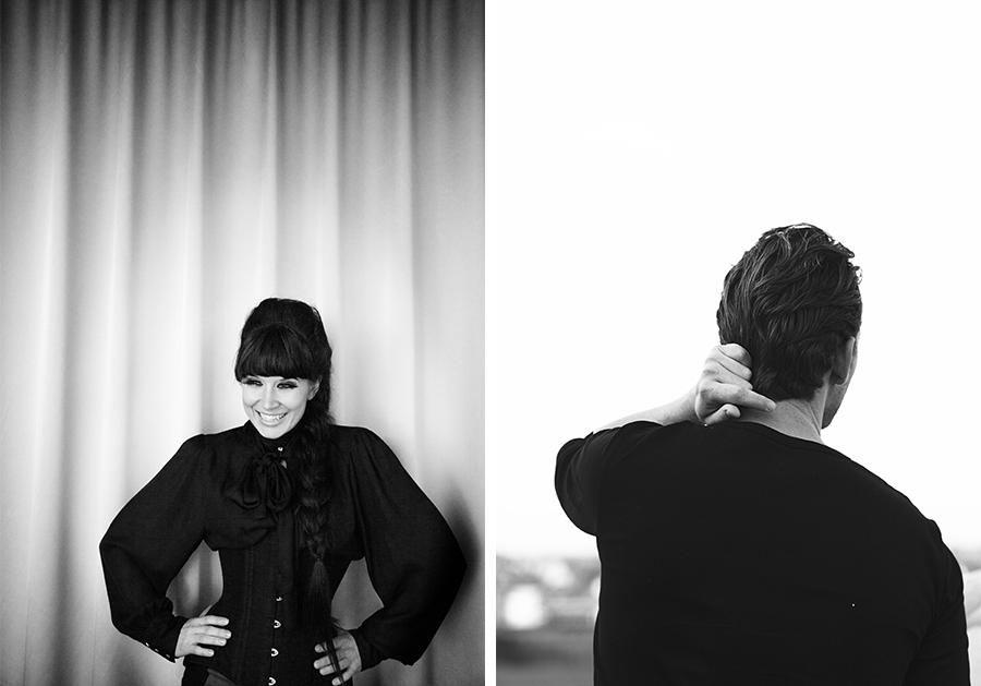 Marie Louise Munkegaard; Photographer; Kamilia Amelié, Rasmus Seebach, Portrætter, Portrætfotograf, Portraits, Copenhagen; Denmark