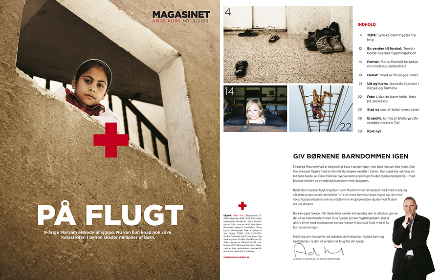 Marie Louise Munkegaard; Photographer; Red Cross, Syrian refugees, Jordan, Copenhagen; Denmark