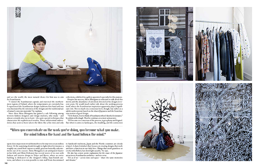 Marie Louise Munkegaard; Photographer; Akira Minagawa, Mina Perhonen, Oak The Nordic Journal, Copenhagen; Denmark