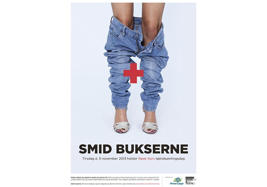 Marie Louise Munkegaard; Photographer; Red cross, Røde Kors, Røde Kors kampagne, Smid bukserne, Copenhagen; Denmark