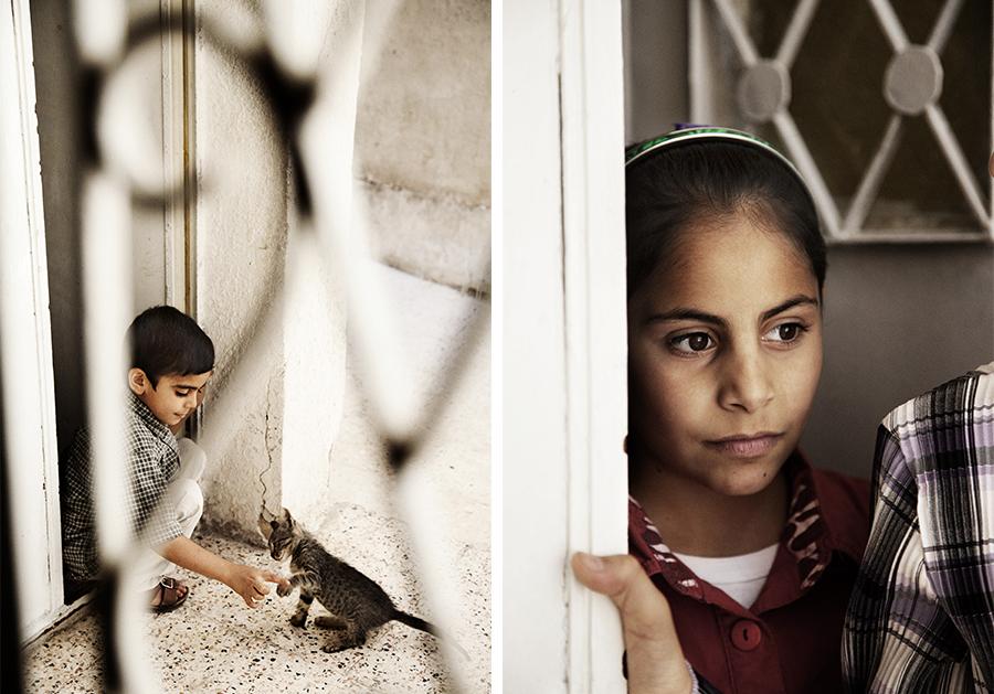 Marie Louise Munkegaard; Photographer; Syrian refugees, Red Cross, Røde Kors, Portrætter, Portrætfotograf, Copenhagen; Denmark